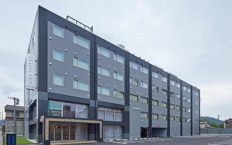 花里町ビジネスホテル「ワットホテル&スパ飛騨高山」新築工事(高山市)