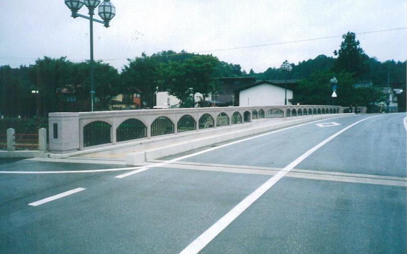 市道若達花岡線道路改良(道路改良・高欄)