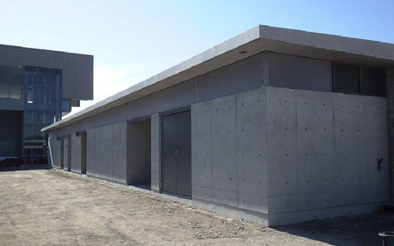 駅西公衆トイレ建築工事(高山市昭和町)
