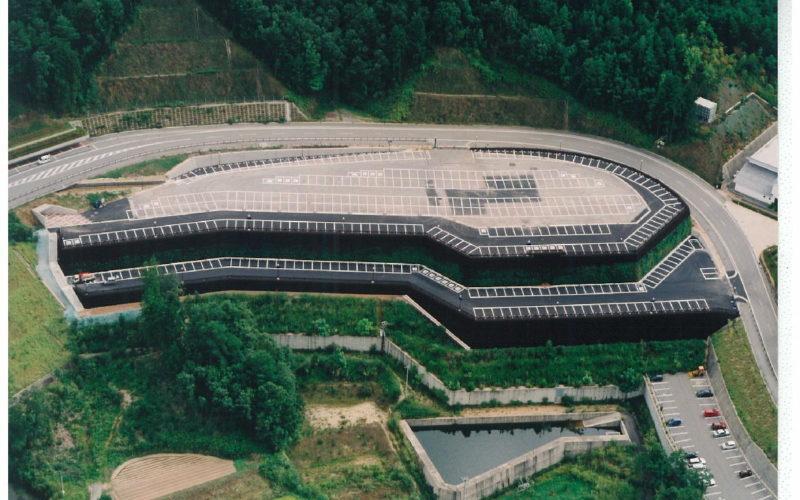 飛騨・世界生活文化センター駐車場造成(高山市千島町)