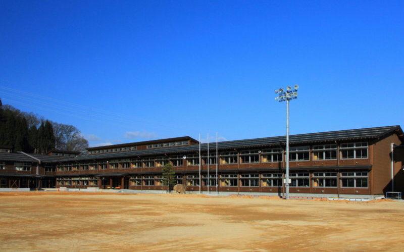 東小学校校舎改築工事(高山市松之木町)