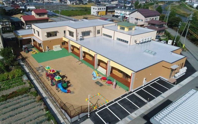 本母保育園 園舎建築及び旧園舎解体工事(高山市本母町)