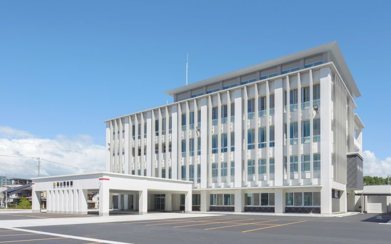 高山警察署庁舎新築工事(高山市大新町)
