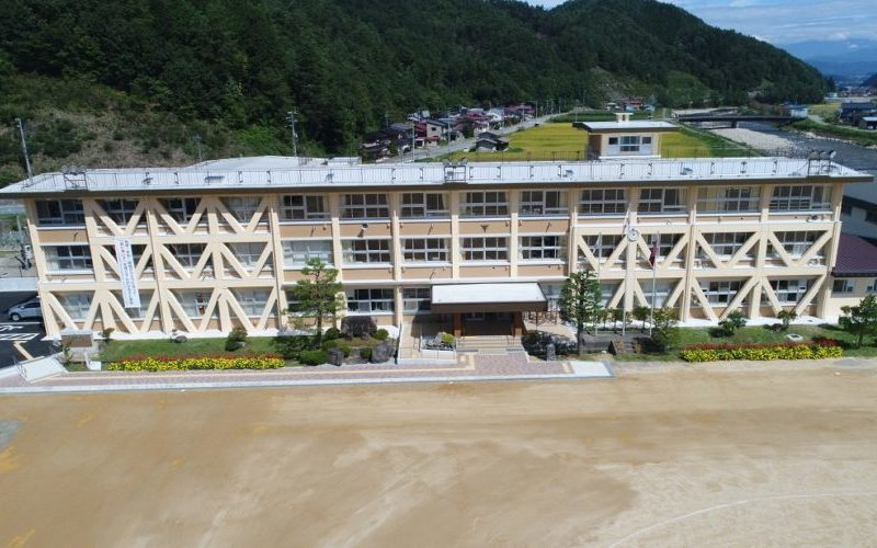 清見中学校校舎大規模改修工事(高山市清見町)
