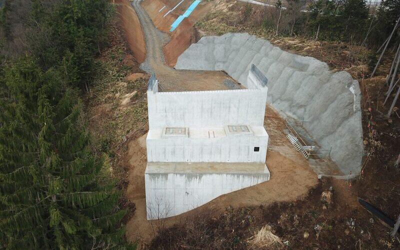 中部縦貫下切高架橋A2下部工事