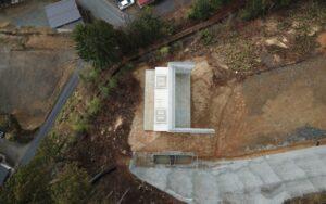 中部縦貫下切高架橋A2下部工事が完成しました