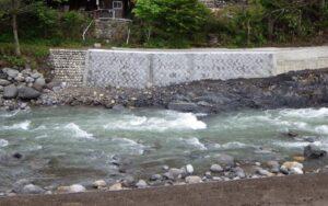 公共河川災害復旧事業小八賀川12が完成しました