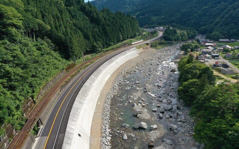 令和2年度41号門坂南地区道路改良工事